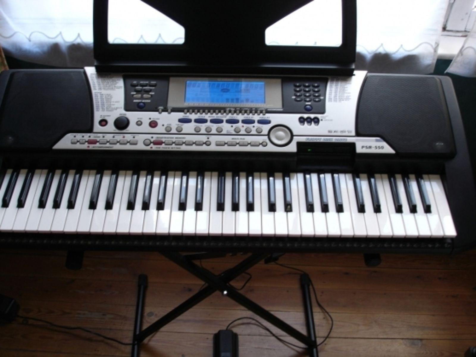 yamaha psr 550 image 10998 audiofanzine rh en audiofanzine com Yamaha PSR 510 Yamaha PSR 510