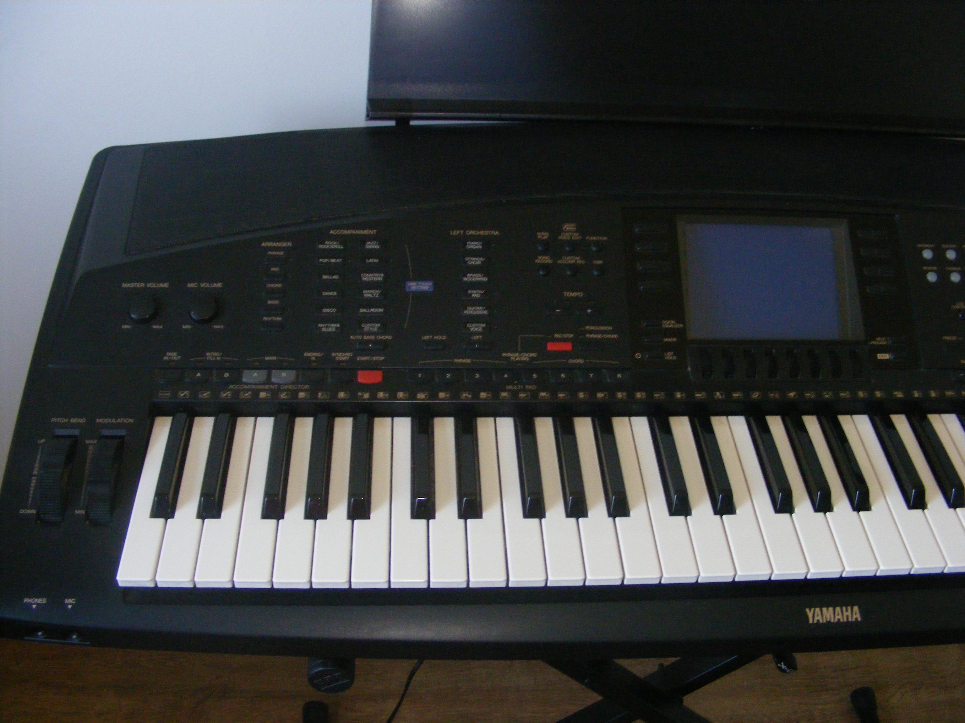 Usb midi yamaha psr 295 thebestdagor for Yamaha clp 295