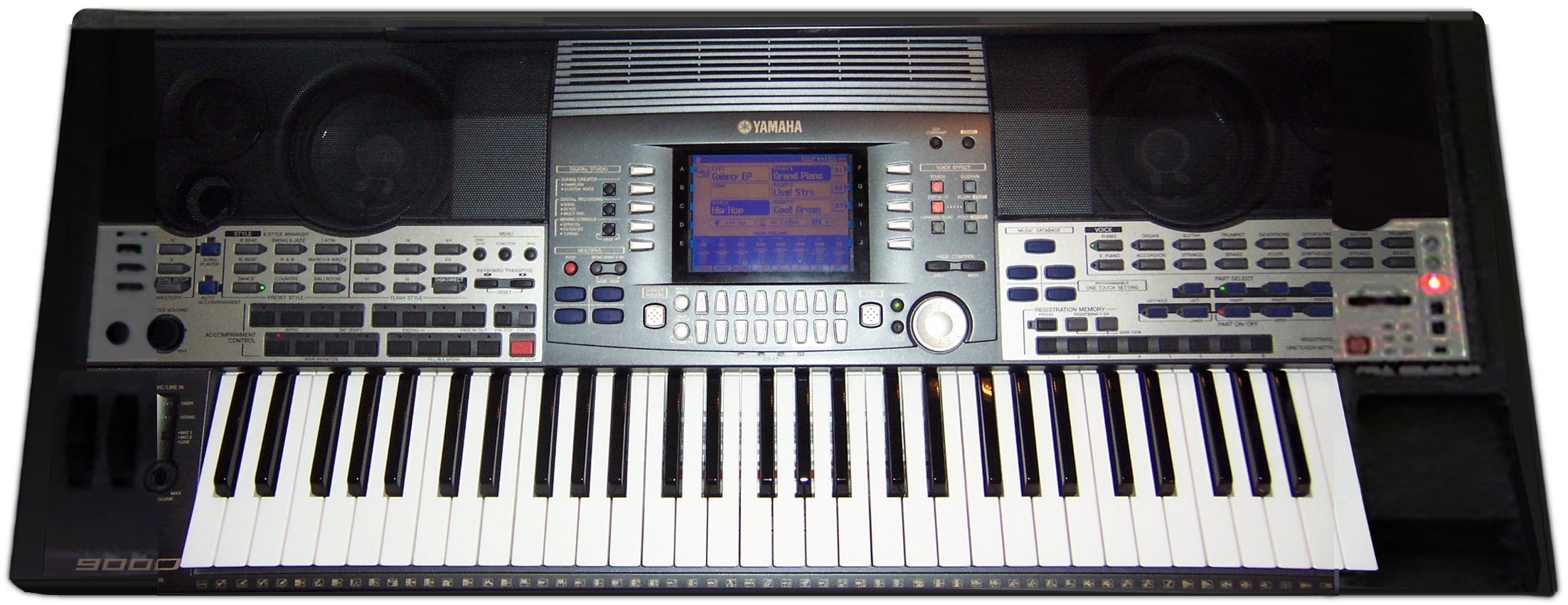 Yamaha psr 9000 image 317079 audiofanzine for Yamaha a3000 keyboard