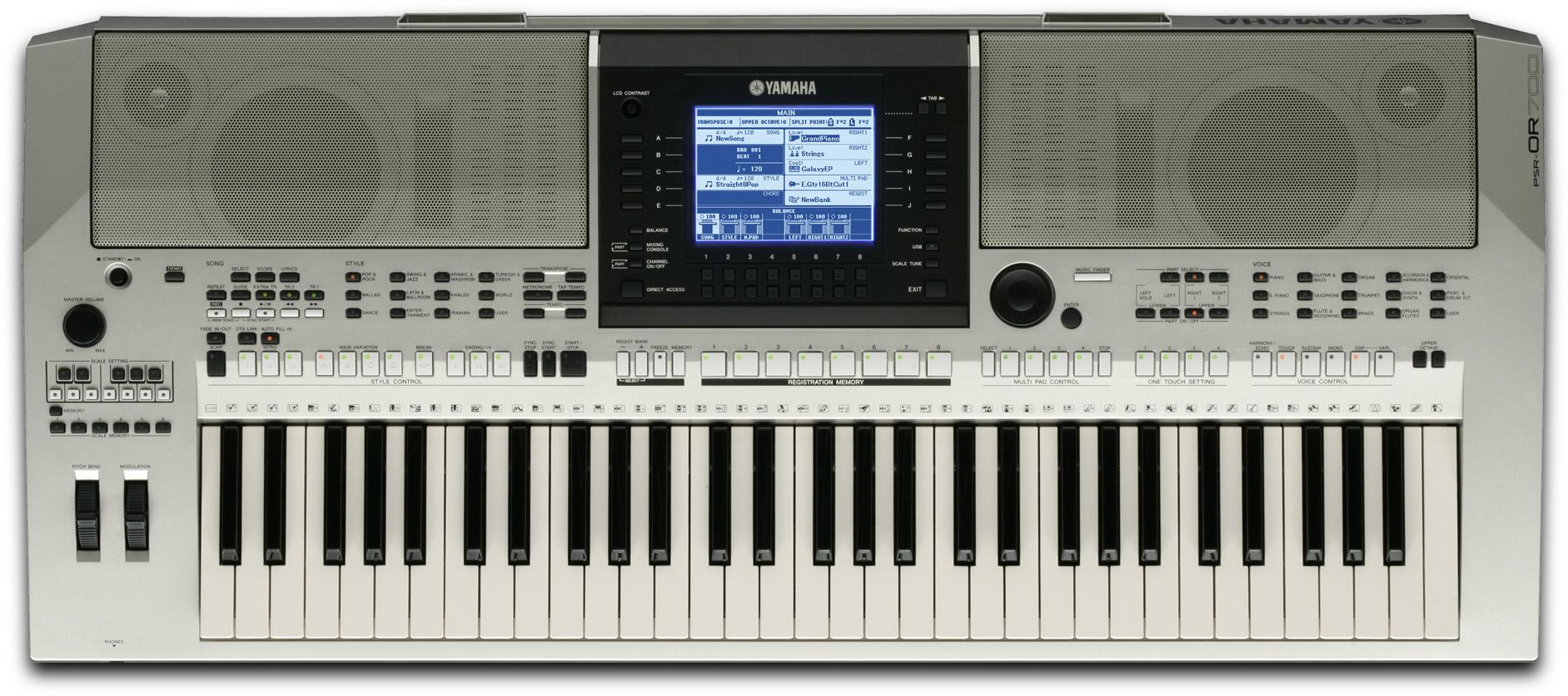 Yamaha psr e403 image 249968 audiofanzine for Yamaha psr 410 keyboard