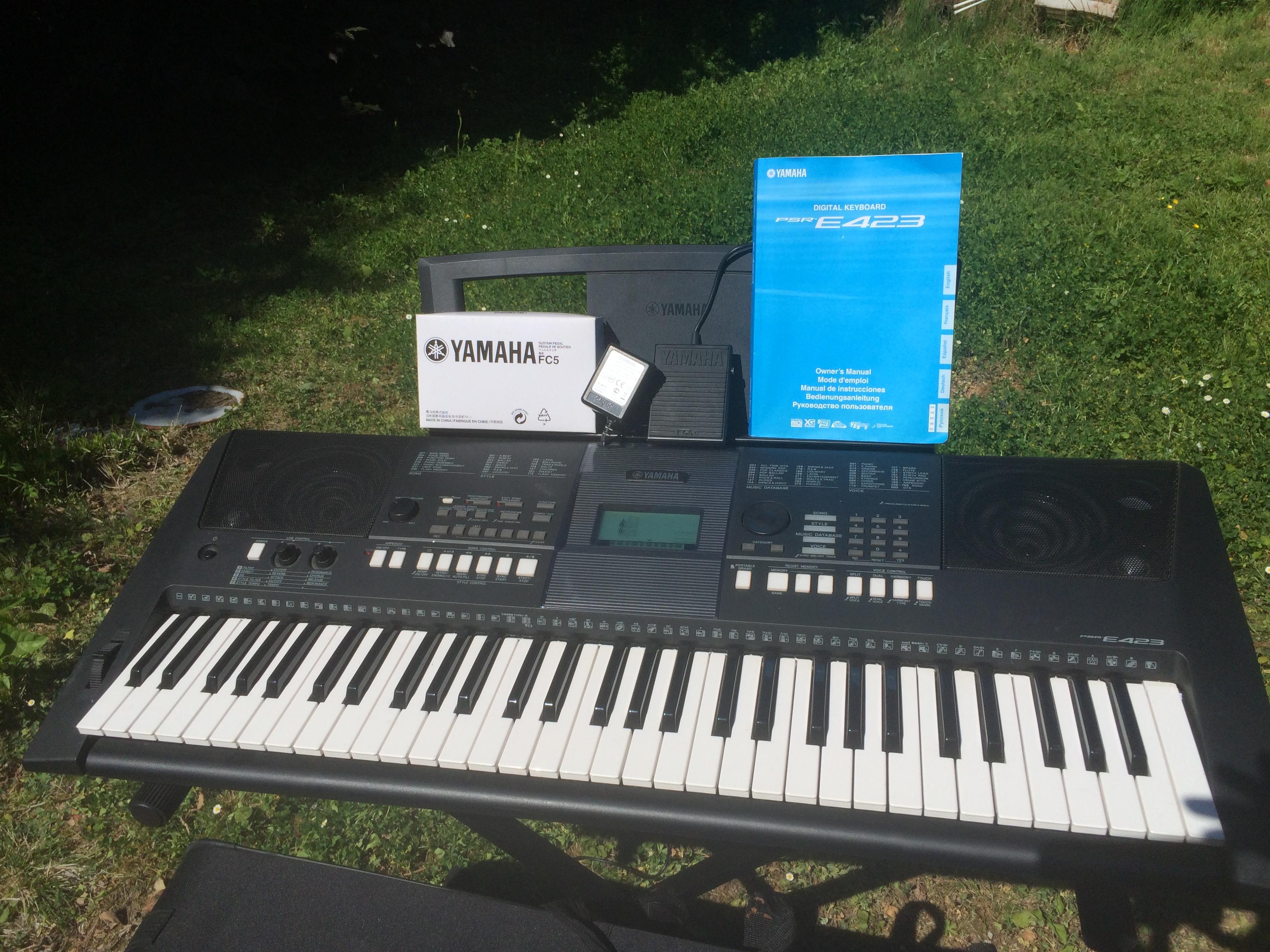 yamaha psr e423 image 1767439 audiofanzine rh en audiofanzine com Yamaha PSR E423 vs E433 Yamaha Keyboards PSR-E423 Accessories