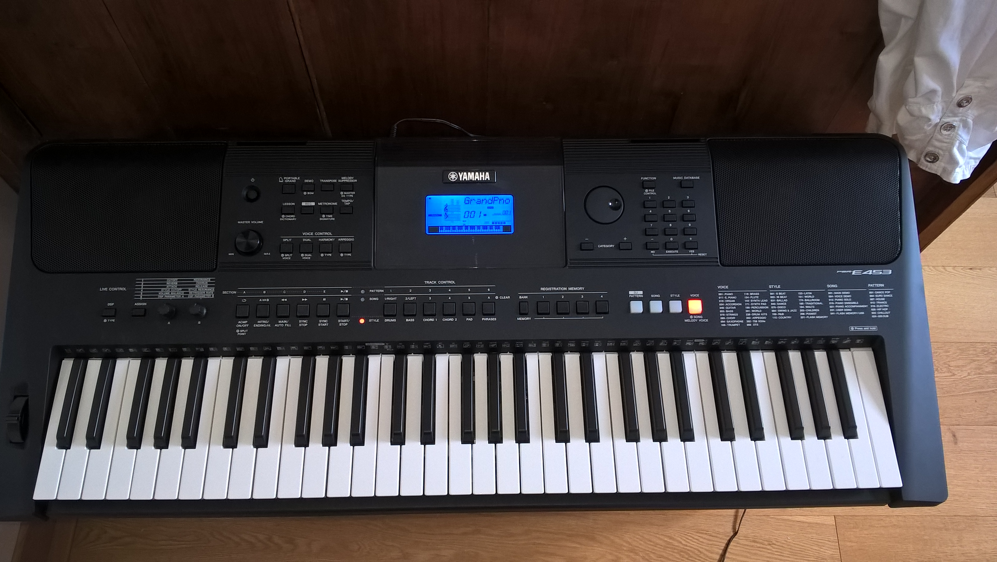 yamaha psr 320 manual