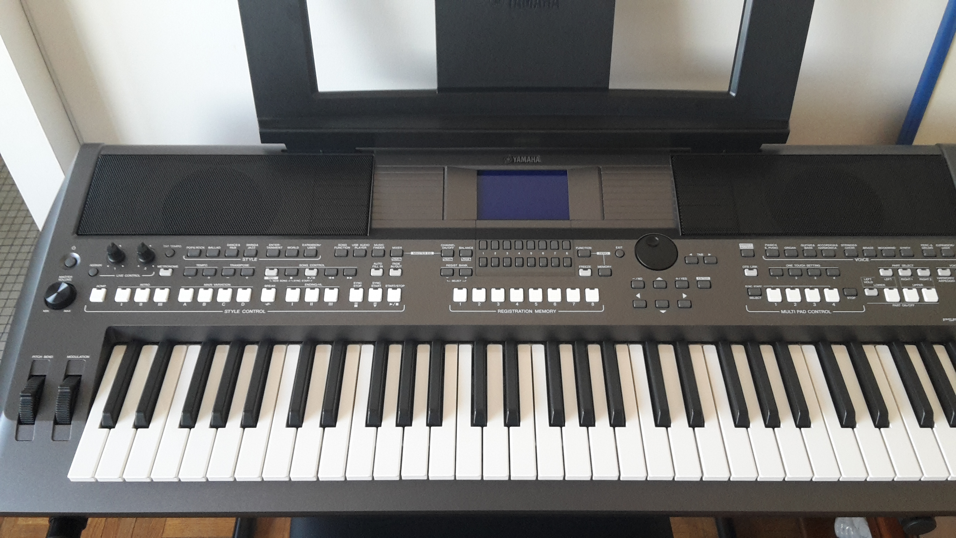 Yamaha psr s670 portable arranger keyboard daftar harga for Yamaha psr ew300 review