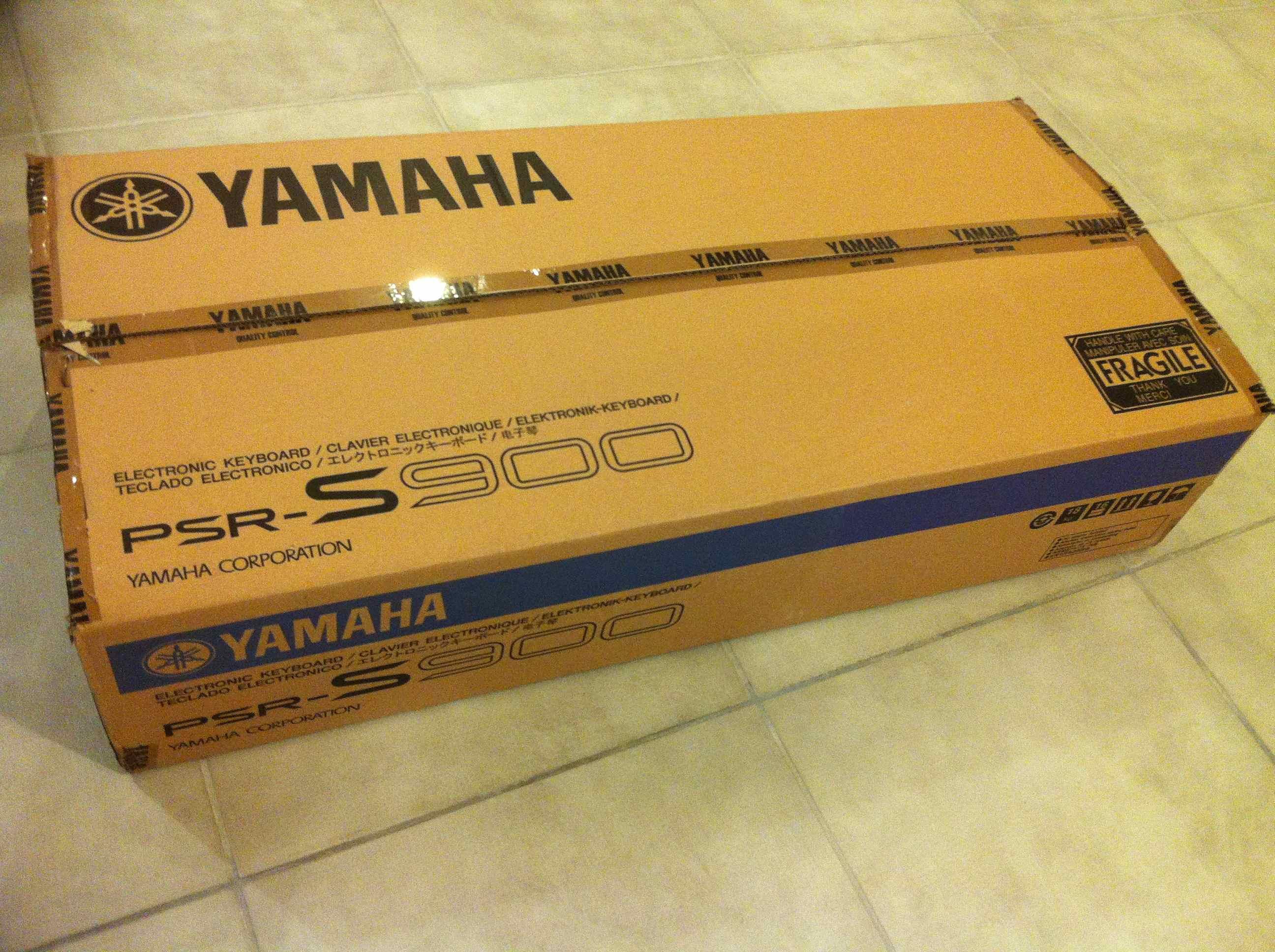 yamaha psr s900 image 454769 audiofanzine. Black Bedroom Furniture Sets. Home Design Ideas
