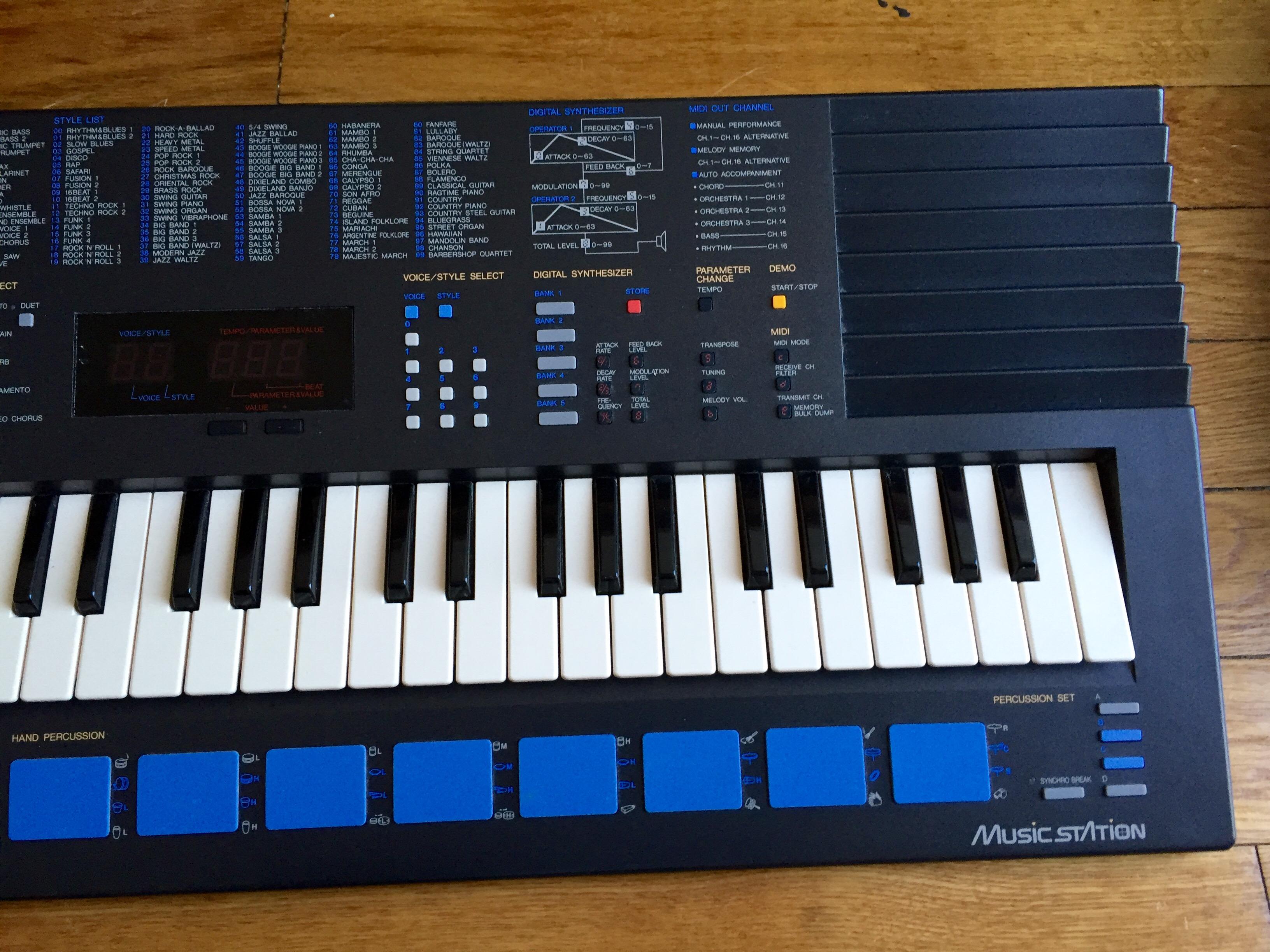 How To Play Yamaha Portasound Pss
