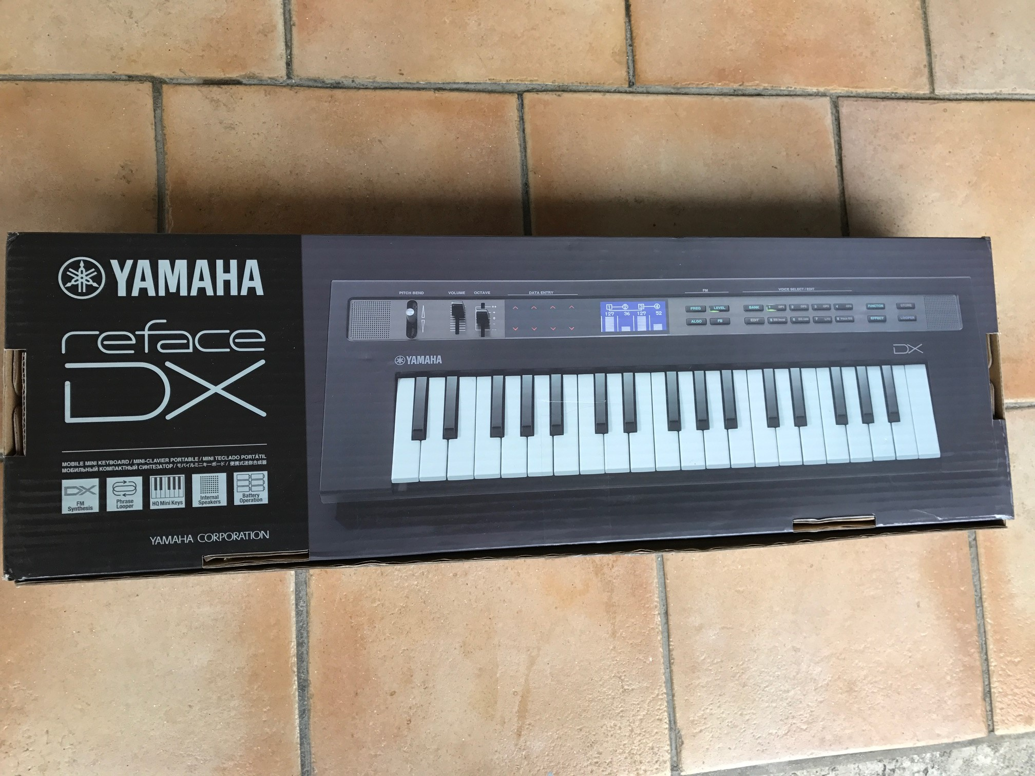Yamaha reface dx image 1767859 audiofanzine for Yamaha dx reface review