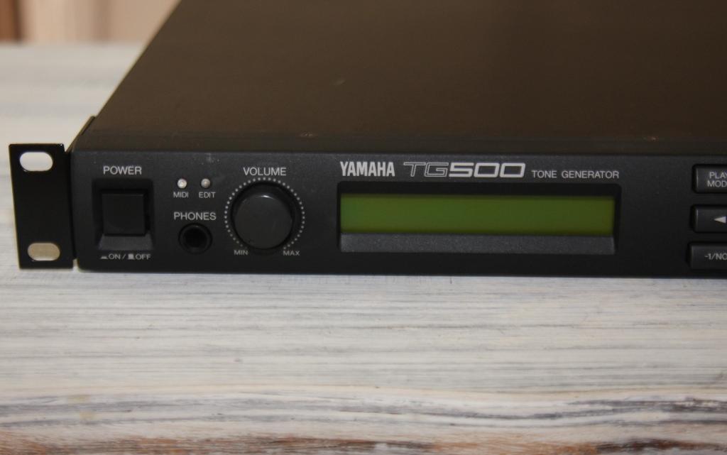 yamaha tg500 image 1109848 audiofanzine. Black Bedroom Furniture Sets. Home Design Ideas