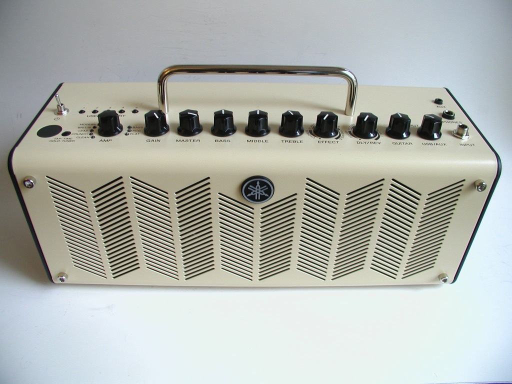 Yamaha thr10 travel amp review small but powerful for Yamaha guitar amplifier thr10