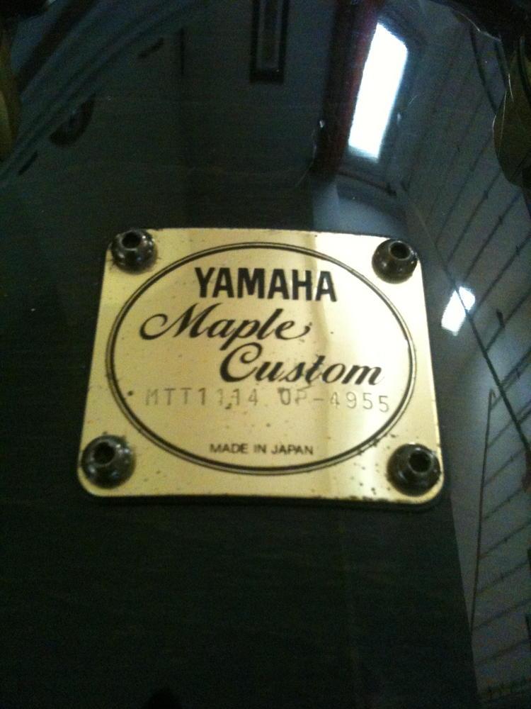 yamaha tom 14x12 maple custom image 701643 audiofanzine. Black Bedroom Furniture Sets. Home Design Ideas