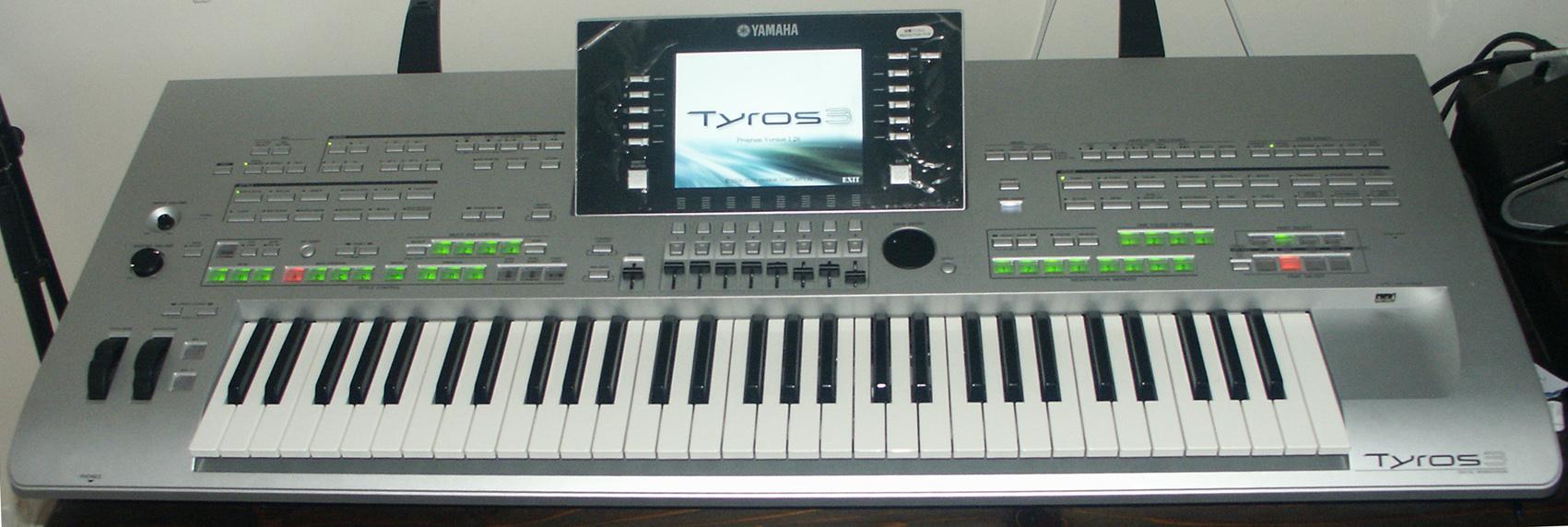Tyros  Yamaha