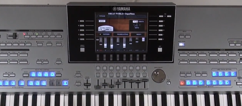 Yamaha Tyros  Tutorial