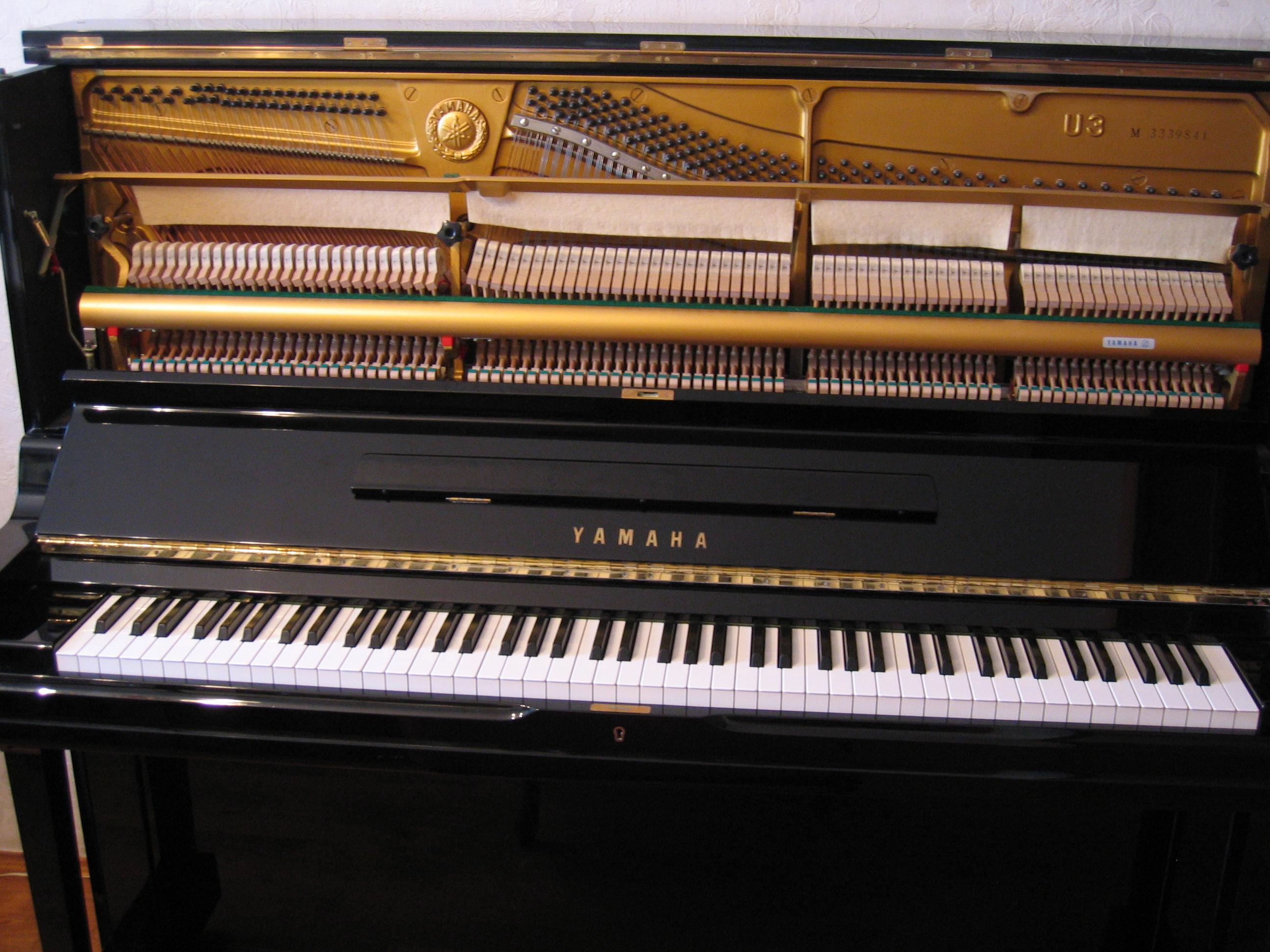 Yamaha u3 image 523047 audiofanzine for Used yamaha u3 upright piano