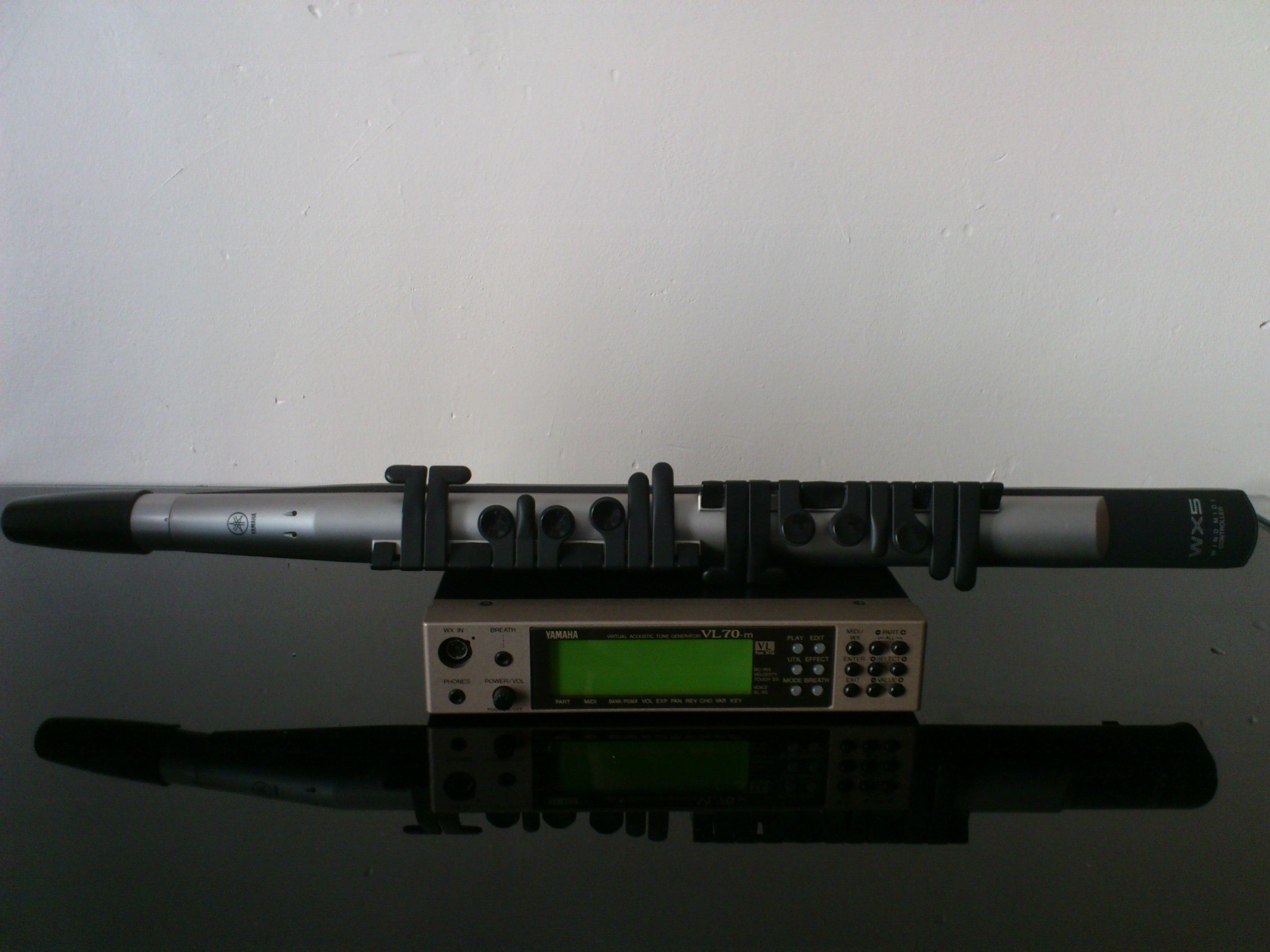 Yamaha wx5 image 376521 audiofanzine for Yamaha electronic wind instrument