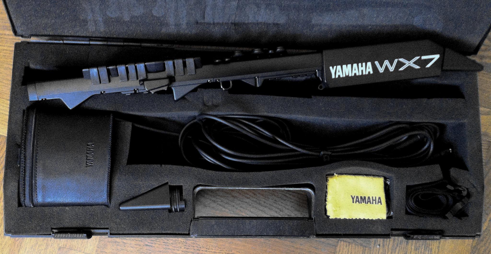 Yamaha wx7 image 916621 audiofanzine for Yamaha electronic wind instrument