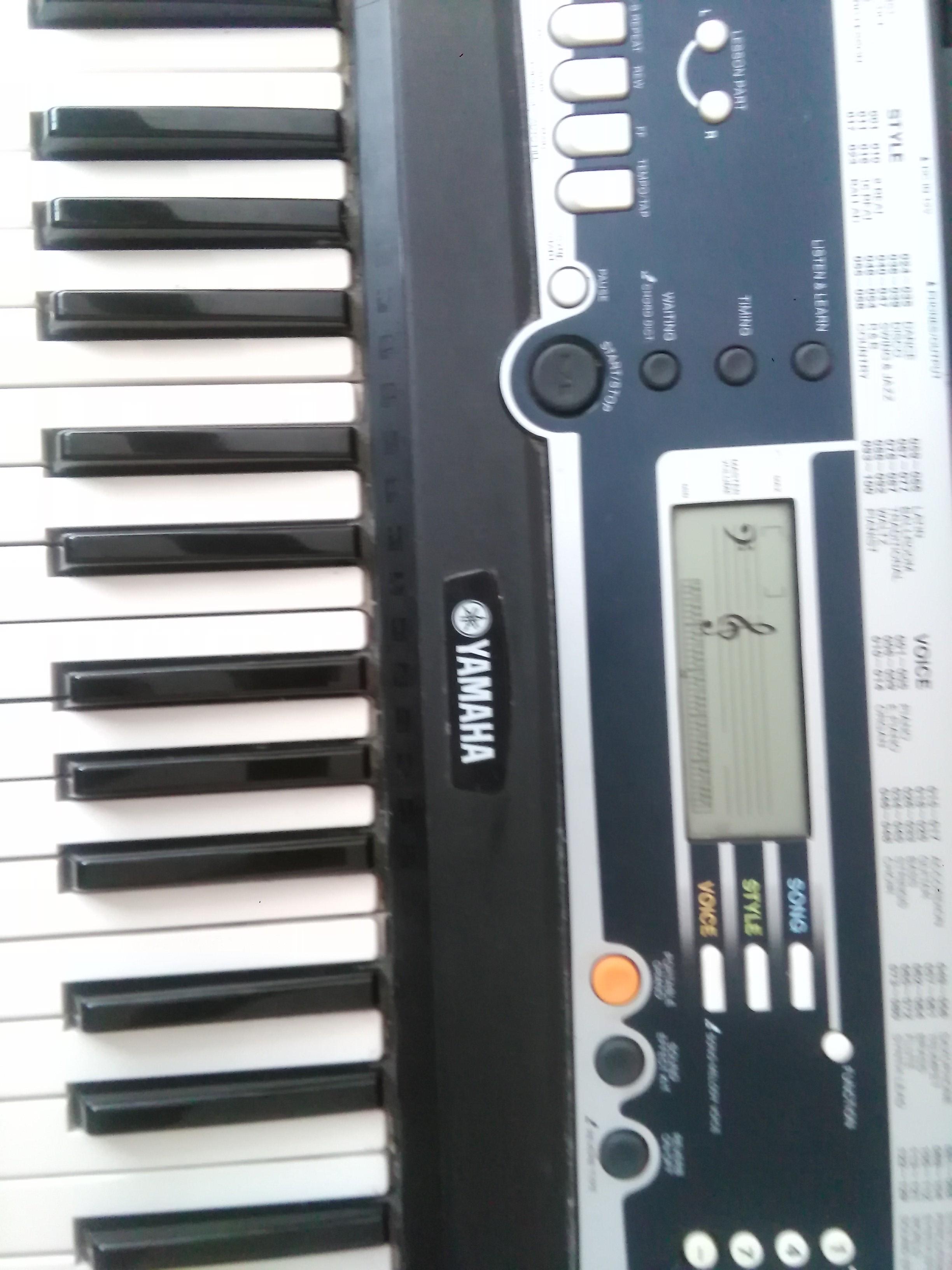 Yamaha ypt 210 image 1453231 audiofanzine for Yamaha ypt 210 manual
