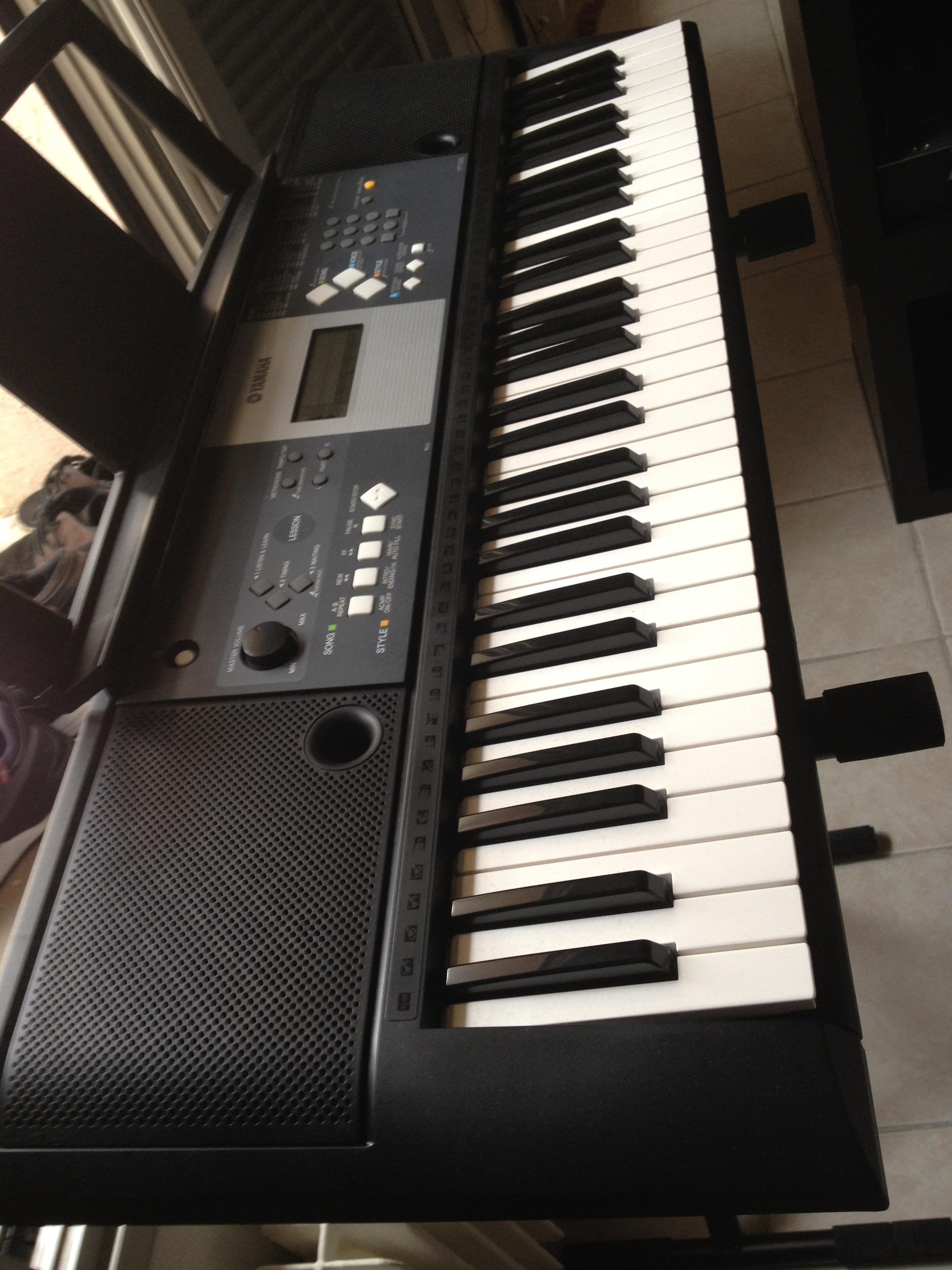 Yamaha ypt 210 image 781993 audiofanzine for Yamaha ypt 210 manual