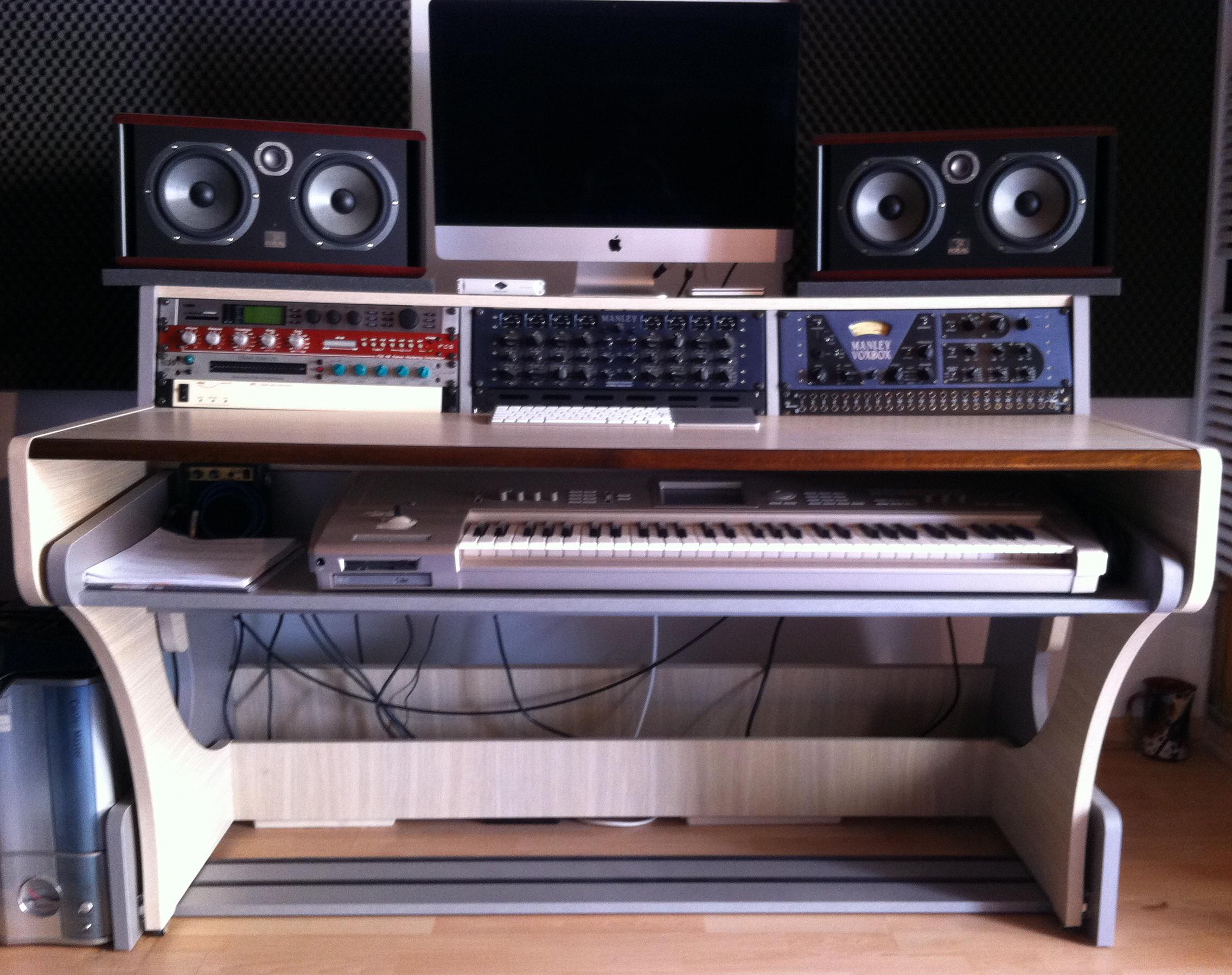 zaor-miza-88-xl-bleached-oak-863940 Studio Furniture Workstation Home on home studio setup furniture, home studio furniture desk, home recording workstation,