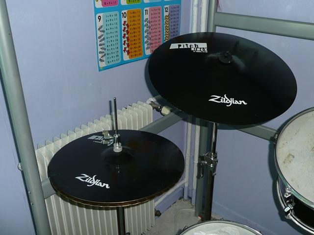 Zildjian Pitch Black Cymbals Zildjian Pitch Black Pack