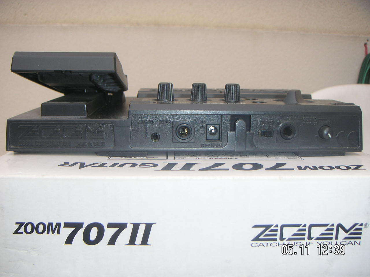 zoom 707 ii guitar image 142579 audiofanzine. Black Bedroom Furniture Sets. Home Design Ideas