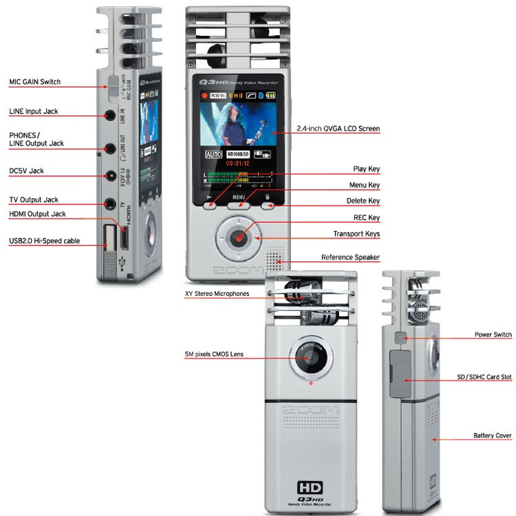 zoom q3hd image 520289 audiofanzine rh en audiofanzine com zoom q3hd manual español Zoom H4n