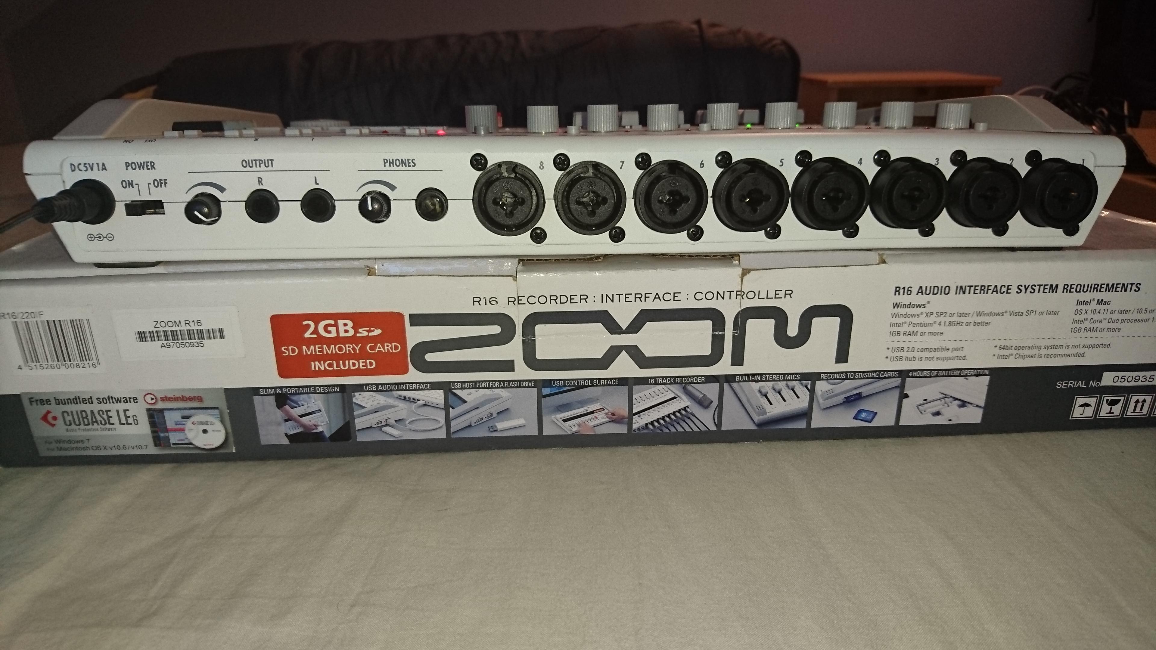 zoom r16 image 1552557 audiofanzine. Black Bedroom Furniture Sets. Home Design Ideas