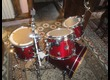 """DW Perform. Lacquer Fusion 20"""" 4 fûts 3 toms Cherry Stain"""