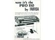 Vends Farfisa professional 110 R & Leslie DBS Electronic avec ses deux housses en cuir (Etat collection) : 700€