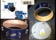 """Caisse claire Ludwig Drums Accent CS Series 14"""""""