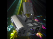 Effet lumineux MARTIN Mania EFX-800 DMX Flower Multi-rayonnant + 2eme Lampe + Flight-case