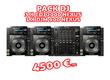 Pack DJ - 3 x CDJ 2000 Nexus + 1 x DJM 900 Nexus