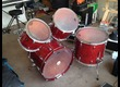 Kit 4 fûts TAMA Superstar's 80's vintage en Bouleau Cherry Wine