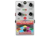 Alexander Pedals Syntax Error