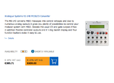 Analogue Systems RS-140 MIDI-CV CONVERTER