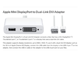 Apple Mini DisplayPort to Dual-Link DVI