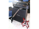 B.C. Rich Warlock Metal Master Blade - Black w/ Silver Blade