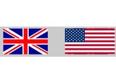 Brit and Am flags4