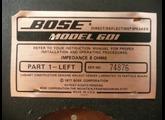 Bose 601