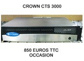 Crown CTS 3000