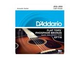 D'Addario Flat Top Phosphor Bronze Wound Acoustic Guitar