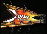Dean Guitars Dime Razorback Explosion Lefty