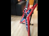 Dean Guitars USA Razorback Rebel Flag