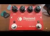 Diamond Pedals Fireburst