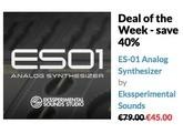 Ekssperimental Sounds Studio ES-01 Analog Synthesizer (82017)