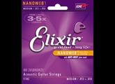 Elixir Strings Nanoweb Coating 80/20 Bronze Acoustic