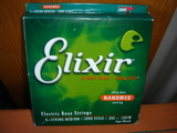 Elixir Strings Nanoweb Coating Bass Nickel Plated Custom