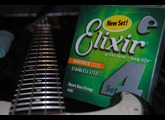 Elixir Strings Nanoweb Coating Bass Stainless Steel