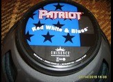 Eminence Red White and Blues