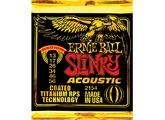 Ernie Ball Coated Titanium RPS Acoustic Slinky