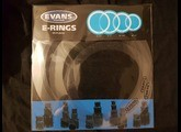 """Evans E-RING 12"""" clear"""