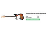 Fender American Standard Jazz Bass LH [2008-2012]
